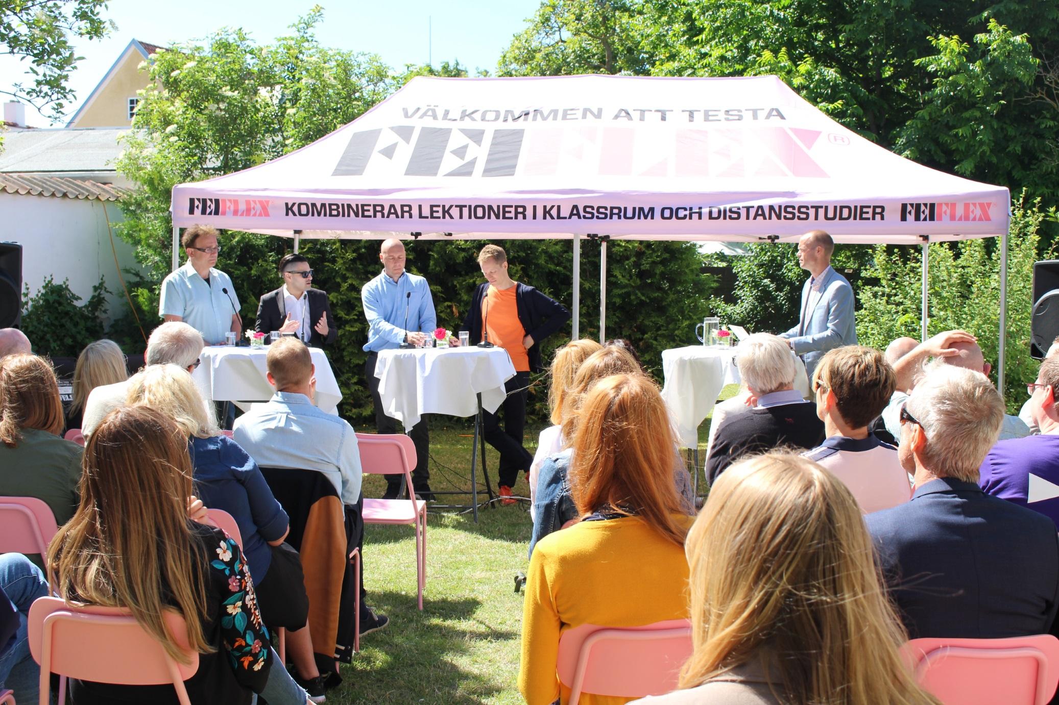 FEI på plats i Almedalen 2017