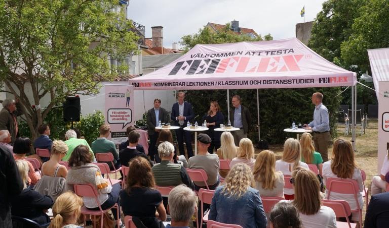 FEI och fastighetsmäklarförbundet talade i Almedalen om flyttkedjan