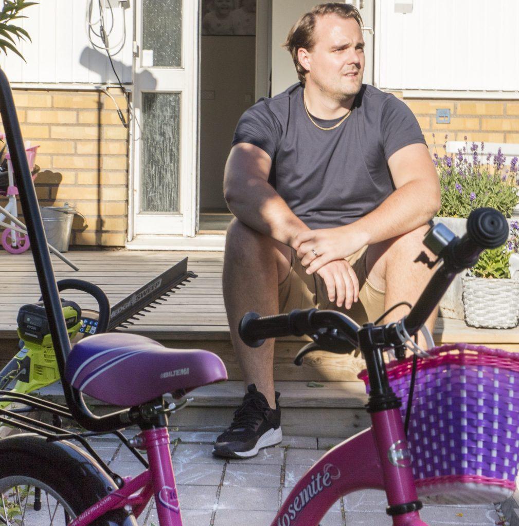 Martin läser Civilekonom 120 hp på FEI